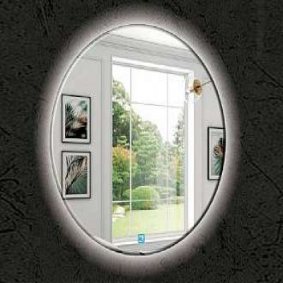 Gương tròn trang điểm treo tường có đèn led ROLAND G8